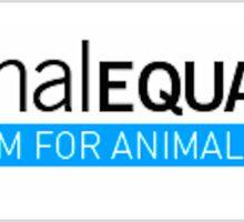 ANIMAL EQUALITY  Sticker