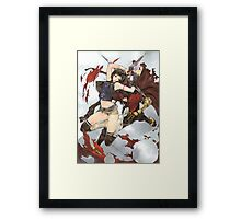 Yuffie & Vincent Poster Framed Print