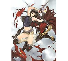 Yuffie & Vincent Poster Photographic Print
