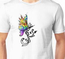 Butterfly Swirl Unisex T-Shirt