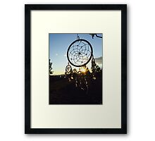 Catching Dreams Framed Print
