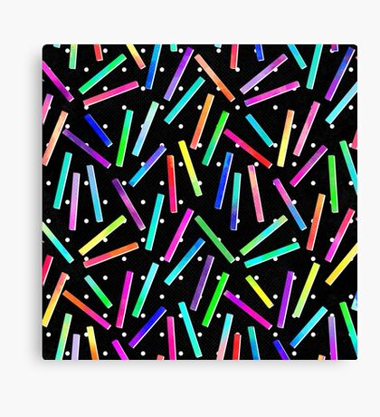 Eighties Party Canvas Print