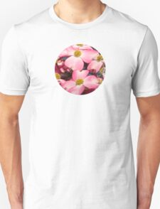 Welcome Spring - Pink Dogwood Unisex T-Shirt