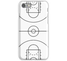 Basketball Court iPhone Case/Skin