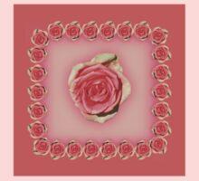 Pink Rose Baby Tee