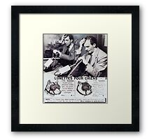 The All New Broadband Final Lecture with Demonic Possession.. Framed Print