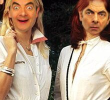 Mr Bean does Abba Sticker