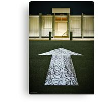 This way Canvas Print