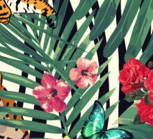 tropical wild  Sticker
