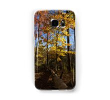 Of Fall and Fallen Giants - Autumn Forest in the Sunshine Samsung Galaxy Case/Skin