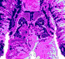 Purple Suit Sticker