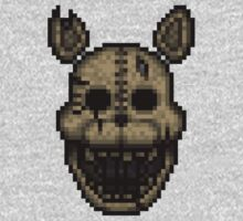 The CAT - Five Nights at Candy's 2 - Pixel art One Piece - Long Sleeve