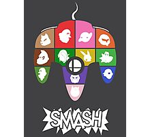 Smash 64 Poster Photographic Print