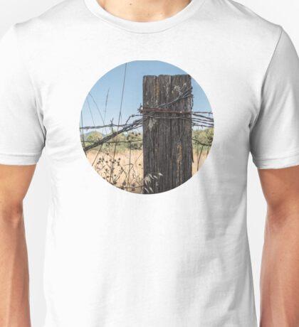 Old Fence Post Unisex T-Shirt