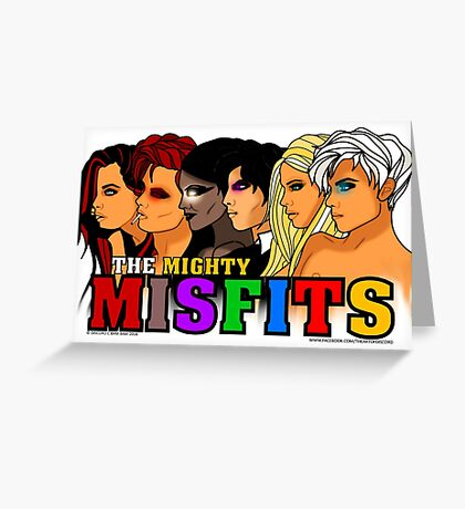 The Mighty Misfits 2016 Greeting Card