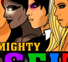 The Mighty Misfits 2016 Sticker