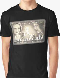 BioShock – Incinerate! Video Reel Ad Graphic T-Shirt