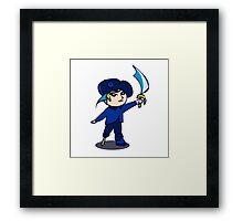 Chibi Pirate Framed Print