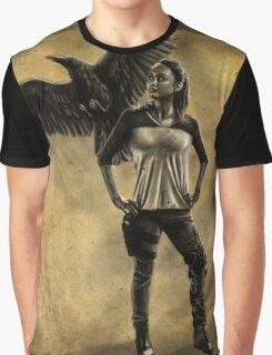Raven Stay Strong 1 Graphic T-Shirt