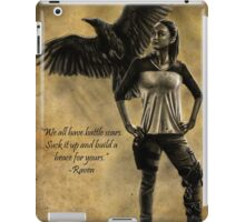 Raven Stay Strong 2 iPad Case/Skin