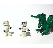 Run Trooper Run Photographic Print