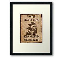 Dead or alive Framed Print