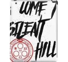 Come To Silent Hill iPad Case/Skin