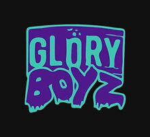 GLORY BOYZ Light Blue and Purple Pullover