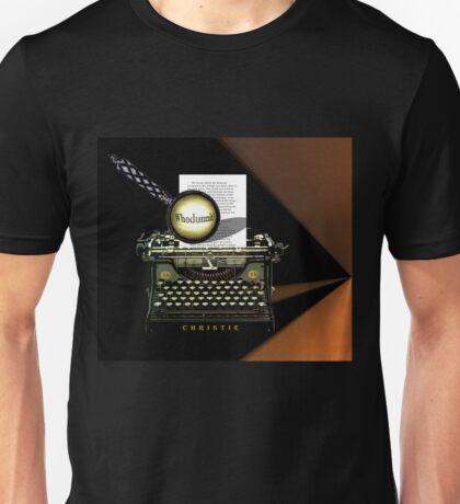 Agatha Christie Knows Whodunnit! Unisex T-Shirt
