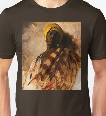 vintage art, Study for Guard of the Harem from 1879 Unisex T-Shirt