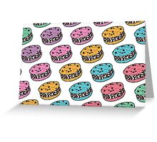 Chipwich Chocolate Chip Cookie Ice Cream Sandwich Greeting Card