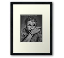 Chris Hemsworth Framed Print