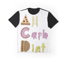 All Carb Diet Graphic T-Shirt