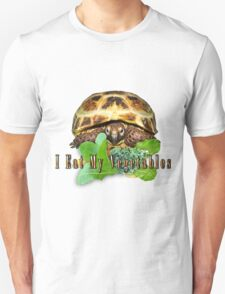 Tortoise - I Eat My Vegetables Unisex T-Shirt