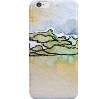 Watercolor Landscape I iPhone Case/Skin
