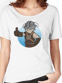 Dovahkiin Boy Women's Relaxed Fit T-Shirt