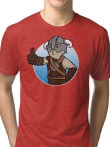 Dovahkiin Boy Tri-blend T-Shirt