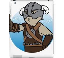 Dovahkiin Boy iPad Case/Skin