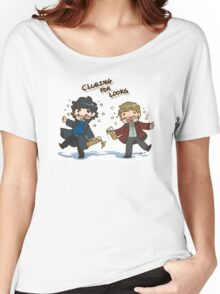 BBC Sherlock - Clueing for Looks Women's Relaxed Fit T-Shirt