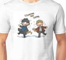 BBC Sherlock - Clueing for Looks Unisex T-Shirt