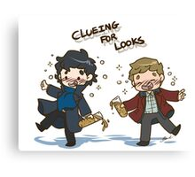 BBC Sherlock - Clueing for Looks Canvas Print