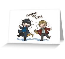 BBC Sherlock - Clueing for Looks Greeting Card