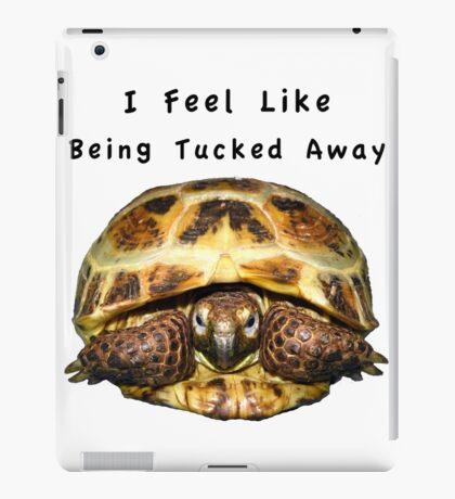 Tortoise - I feel like being tucked away iPad Case/Skin