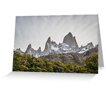 Mount Fitz Roy in Argentina Greeting Card