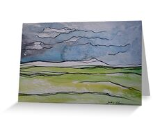 Watercolor Landscape II Greeting Card