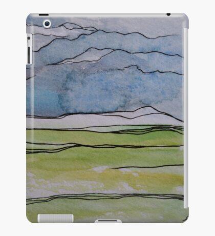 Watercolor Landscape II iPad Case/Skin