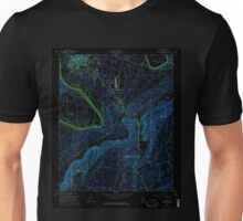 USGS TOPO Map Alabama AL Glencoe 303984 1956 24000 Inverted Unisex T-Shirt