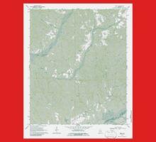 USGS TOPO Map Alabama AL Kirk 304342 1970 24000 One Piece - Short Sleeve