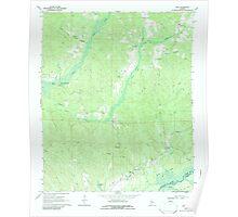 USGS TOPO Map Alabama AL Kirk 304342 1970 24000 Poster