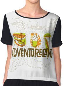 Adventureland Chiffon Top